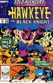 Solo Avengers - Hawkeye and Black Knight