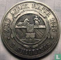 Afrique du Sud 2 shillings 1895