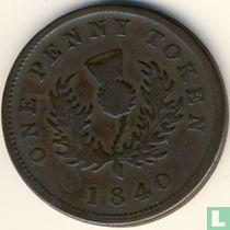 Nova Scotia 1 penny 1840