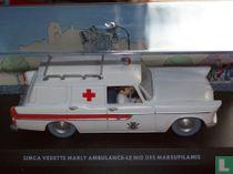 Simca Vedette Marly ambulance