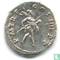 Romeinse Keizerrijk Denarius van Keizer Trajanus 101-102 n.Chr.