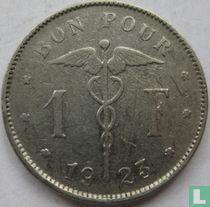 België 1 franc 1923 (FRA)