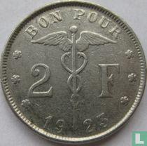 België 2 francs 1923 (FRA - muntslag)