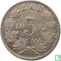 Afrique du Sud 3 pence 1895