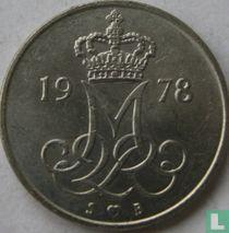 Denemarken 10 øre 1978