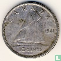 Canada 10 cents 1941