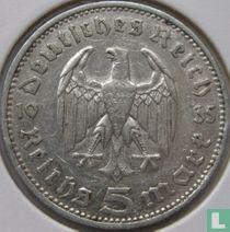 Duitse Rijk 5 reichsmark 1935 (J)