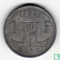 België 1 franc 1942 (NLD-FRA)