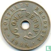 Zuid-Rhodesië 1 penny 1936