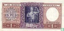 Argentinië 1 Peso 1956