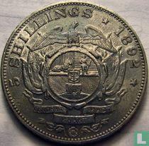 Afrique du Sud 5 shillings 1892 (un seul bras)