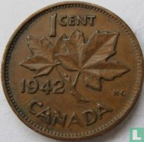 Canada 1 cent 1942