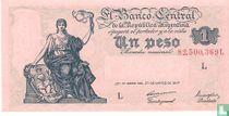 Argentinië 1 Peso 1948