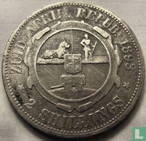 Afrique du Sud 2 shillings 1893