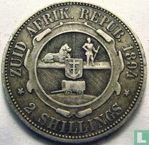 Afrique du Sud 2 shillings 1894
