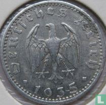 Duitse Rijk 50 reichspfennig 1935 (aluminium - F)