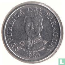 Paraguay 50 guaranies 1980
