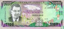 Jamaica 100 Dollars 2002