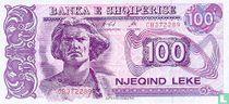 Albanië 100 Lekë 1996