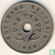 Zuid-Rhodesië 1 penny 1939