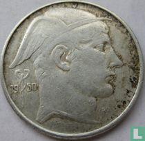België 20 francs 1950 (FRA - muntslag)
