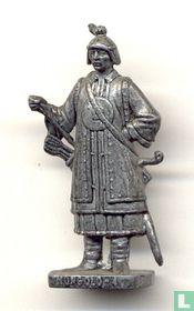 Mongool 4 (zilver)