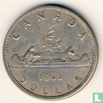 Canada 1 dollar 1963