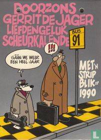 Doorzons Liefdengeluk verscheurkalender 91 - Met striptrugblik op 1990