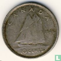 Canada 10 cents 1946