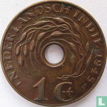 Nederlands-Indië 1 cent 1945 (D) kopen