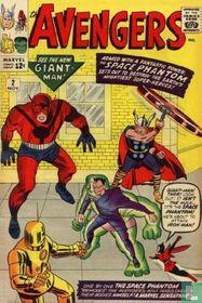 The Avengers Battle the Space Phantom