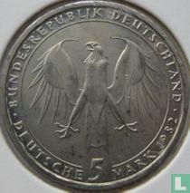"Duitsland 5 mark 1982 ""150th anniversary Death of Johann Wolfgang von Goethe"""