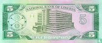 Liberia 5 Dollars