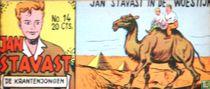 Jan Stavast in de woestijn