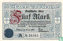 Coblenz 5 Mark