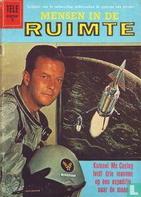 Kolonel Mc Cauley leidt drie mannen op een expeditie naar de maan