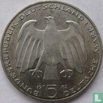 "Duitsland 5 mark 1983 ""100th anniversary Death of Karl Marx"""