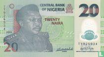 Nigeria 20 Naira 2009
