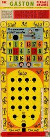 The Gaston pinball machine