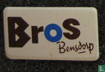 Bros Bensdorp (liggend) [blauw]