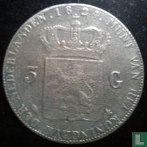 Netherlands 3 gulden 1824