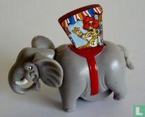 Elefantartiger Auftritt