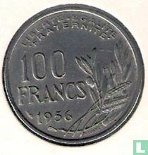 Frankrijk 100 francs 1956 (met B)