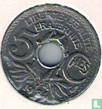 Frankrijk 5 centimes 1934