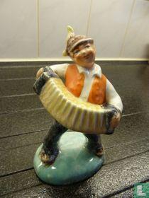 Squeezebox statue