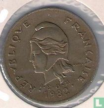 Frans-Polynesië 100 francs 1982