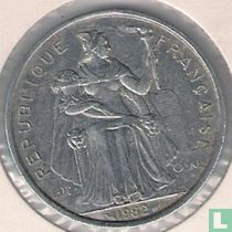 Frans-Polynesië 5 francs 1982