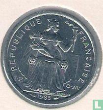 Frans-Polynesië 1 franc 1985