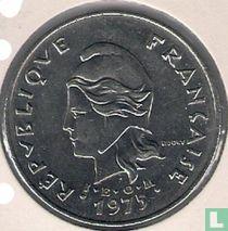 Frans-Polynesië 50 francs 1975