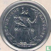 Frans-Polynesië 2 francs 1985